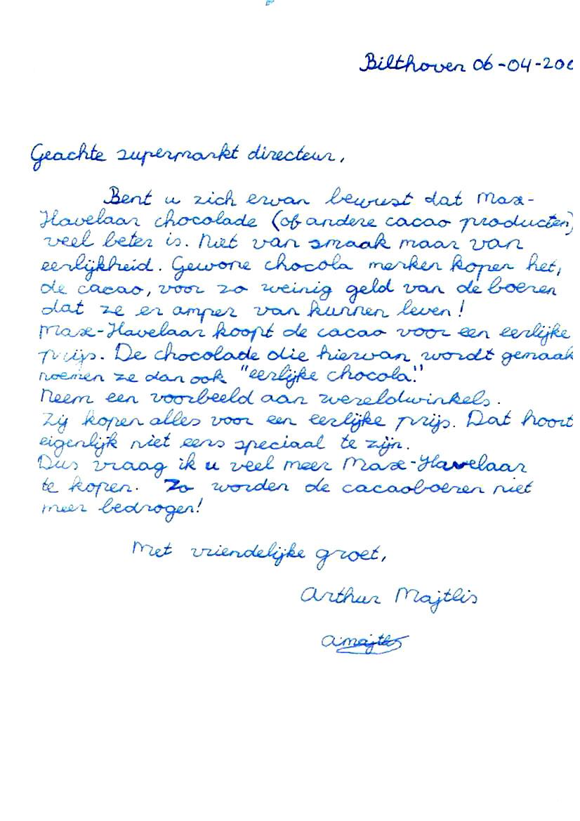 leuke afsluiting brief Grappige Afsluiting Brief | gantinova